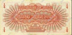 1/4 Pound LIBYE  1952 P.14 SUP