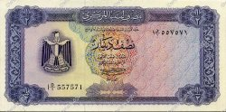1/2 Dinar LIBYE  1971 P.34a NEUF