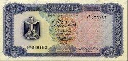 1/2 Dinar LIBYE  1972 P.34b SUP+