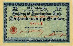 25 Francs LUXEMBOURG  1919 P.31b NEUF
