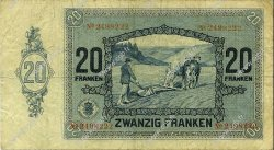 20 Francs LUXEMBOURG  1929 P.37a TB+