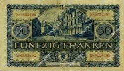 50 Francs LUXEMBOURG  1932 P.38a TTB