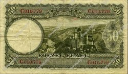 50 Francs LUXEMBOURG  1944 P.46a TB+