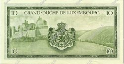 10 Francs LUXEMBOURG  1954 P.48a SPL