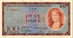 100 Francs LUXEMBOURG  1956 P.50a pr.NEUF