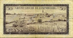 50 Francs LUXEMBOURG  1961 P.51a TB