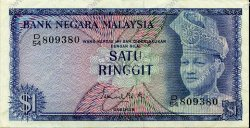 1 Ringitt MALAISIE  1972 P.07 SUP