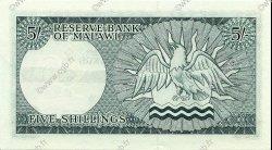 5 Shillings MALAWI  1964 P.01 TTB