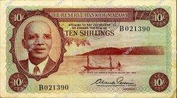 10 Shillings MALAWI  1964 P.02 TTB