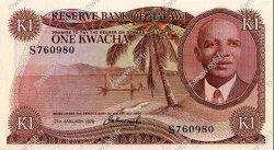 1 Kwacha MALAWI  1975 P.10c NEUF