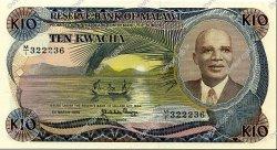10 Kwacha MALAWI  1986 P.21a SPL+