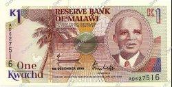1 Kwacha MALAWI  1990 P.23a pr.NEUF