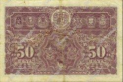 50 Cents MALAYA  1941 P.10b TTB