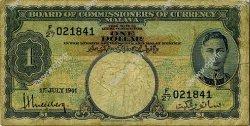 1 Dollar MALAYA  1941 P.11 B