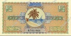 1/2 Rupee MALDIVES  1947 P.01 NEUF