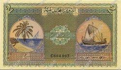 2 Rupees MALDIVES  1960 P.03b NEUF