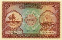10 Rupees MALDIVES  1947 P.05a NEUF