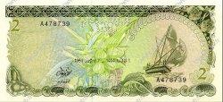 2 Rupees MALDIVES  1983 P.09 pr.NEUF