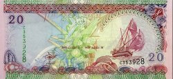 20 Rufiyaa MALDIVES  2000 P.20b NEUF