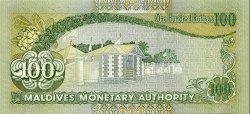 100 Rupees MALDIVES  2000 P.22b pr.NEUF