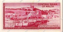 10 Shillings MALTE  1968 P.28 pr.NEUF