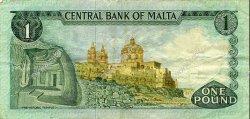 1 Lira MALTE  1973 P.31c TTB+