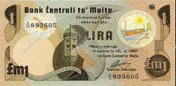 1 Lira MALTE  1979 P.34b NEUF