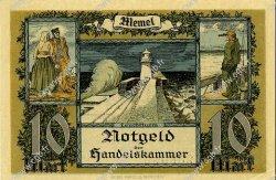 10 Mark MEMEL  1922 P.05b pr.NEUF