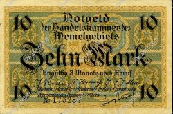 10 Mark MEMEL  1922 P.05b pr.SUP