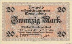 20 Mark MEMEL  1922 P.06b pr.NEUF