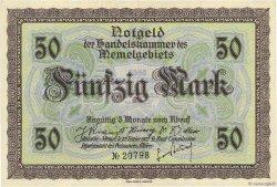 50 Mark MEMEL  1922 P.07a SUP+