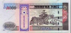 5000 Tugrik MONGOLIE  2003 P.68 NEUF