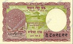 1 Rupee NÉPAL  1965 P.12 SPL