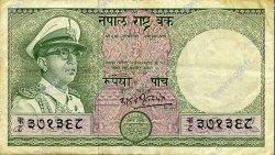 5 Rupees NÉPAL  1972 P.17 TTB
