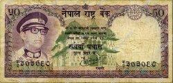 50 Rupees NÉPAL  1974 P.25 B+