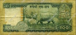 100 Rupees NÉPAL  1974 P.26 TB à TTB