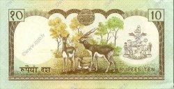 10 Rupees NÉPAL  1985 P.31a SUP