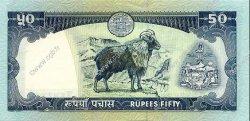 50 Rupees NÉPAL  2000 P.33d pr.NEUF