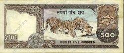 500 Rupees NÉPAL  1981 P.35b SUP