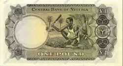 1 Pound NIGERIA  1968 P.12a SPL