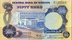 50 Kobo NIGERIA  1973 P.14d NEUF