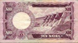 10 Naira NIGERIA  1973 P.17a TTB+