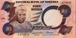 5 Naira NIGERIA  2005 P.24h NEUF