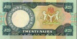20 Naira NIGERIA  2004 P.26h NEUF