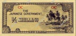 1/2 Shilling OCÉANIE  1942 P.01c SUP+