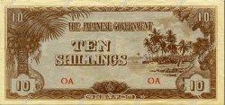 10 Shillings OCÉANIE  1942 P.03a TTB+