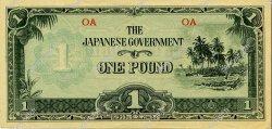 1 Pound OCÉANIE  1942 P.04a SPL