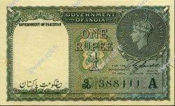 1 Rupee PAKISTAN  1948 P.01 SUP