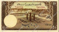 10 Rupees PAKISTAN  1951 P.13 SPL