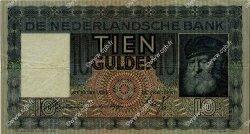 10 Gulden PAYS-BAS  1935 P.049 TTB
